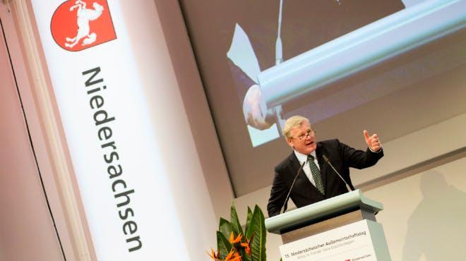 Außenwirtschaftspreis 2018: Minister Althusmann