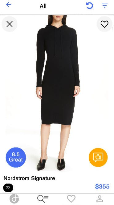Erfolgsgeschichten_Dresslife App_Womens Dress_Nordstrom Signature_Galerie