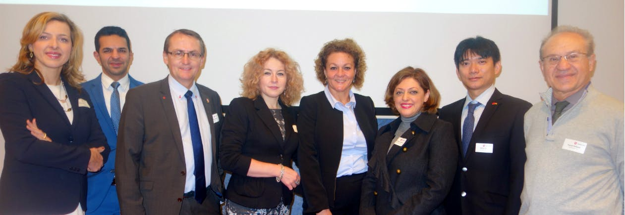 Die niedersächsischen Auslandsvertreterinnen und -vertreter auf den 8. Internationalen Beratertagen