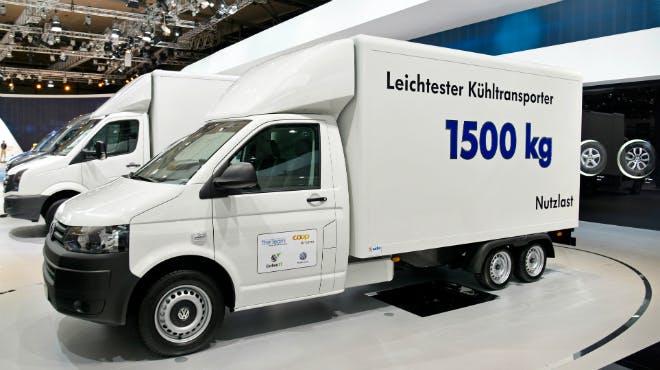 Leichter Kühltransporter (Bild: Carbon Truck & Trailer GmbH)