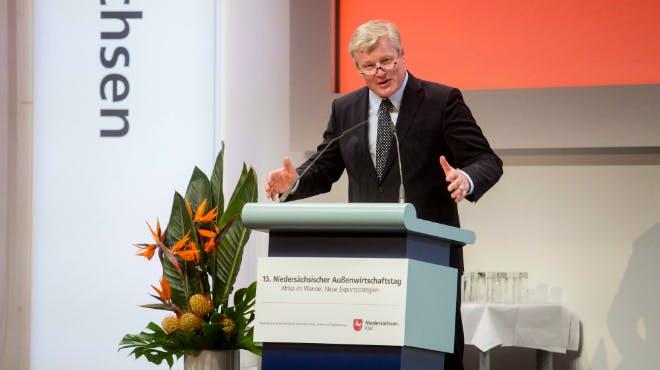 Außenwirtschaftstag 2018: Minister Dr. Bernd Althusmann