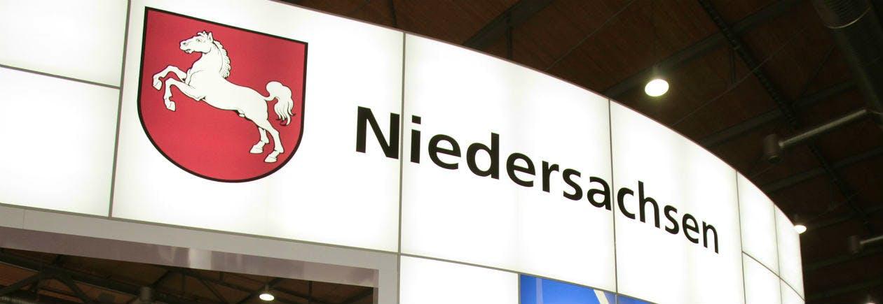 Messestand Niedersachsen