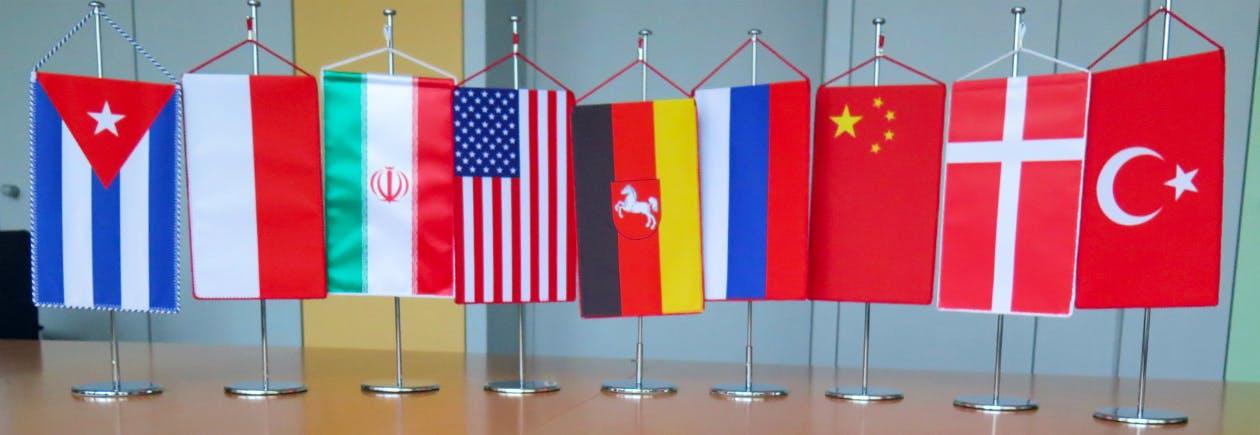 Flaggen Auslandsvertretungen