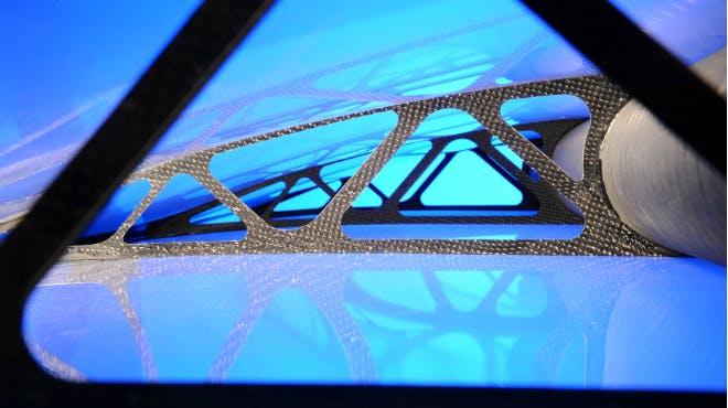 Innovativer Leichtbau für Flügelstrukturen des DLR in Braunschweig