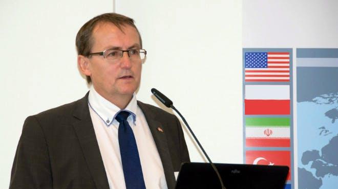 Benny Egholm Sørensen stellt die aktuellen Entwicklungen in Skandinavien vor