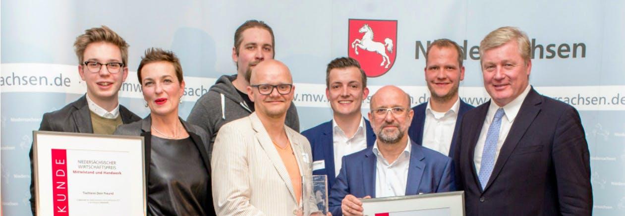Die Gewinner des 3. Niedersächsischen Wirtschaftspreises
