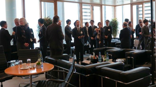 get-together der japanischen und niedersächsischen Partner