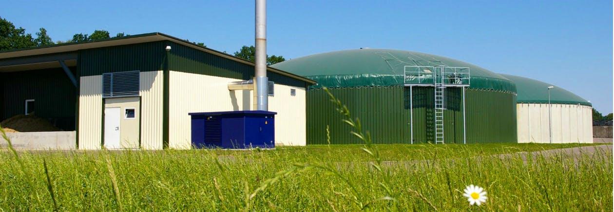 Biogasanlage - Bild: EnviTec