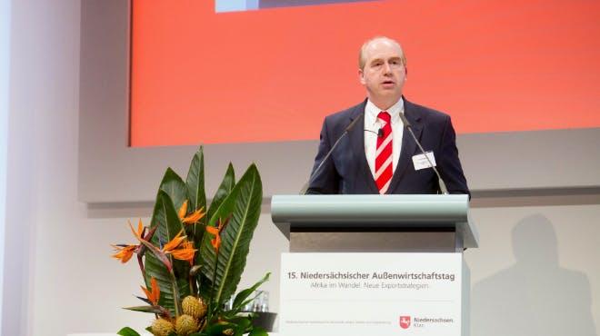 Außenwirtschaftstag 2018: Referent Nordmann von Grimme