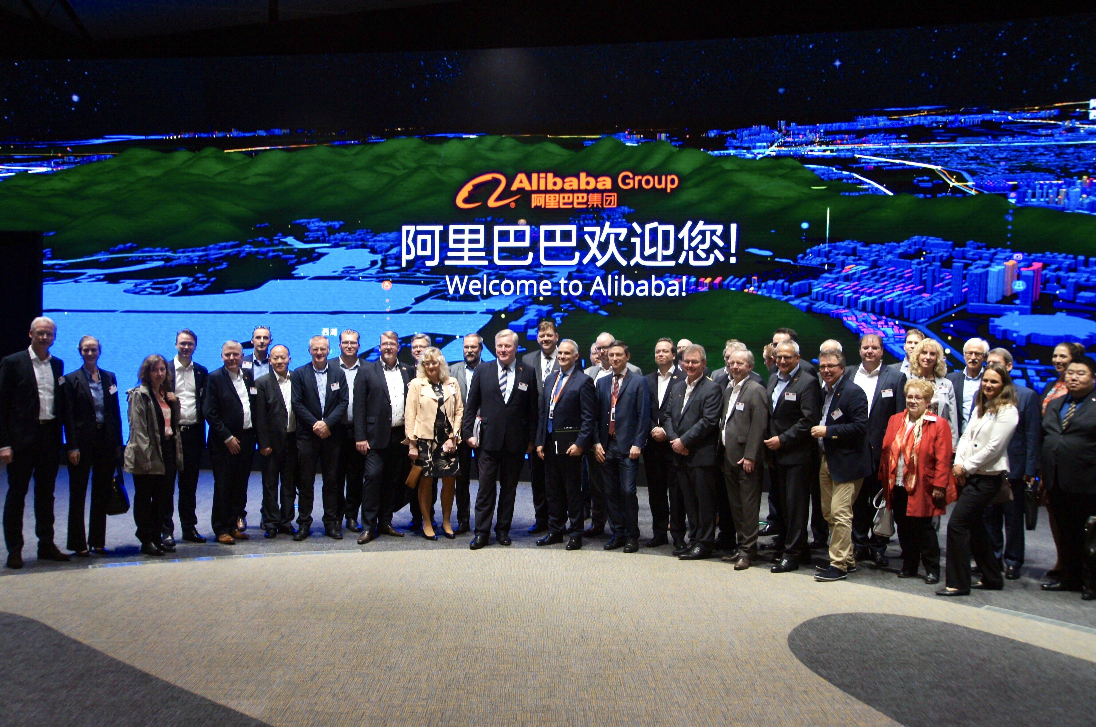 Delegationsereise China Alibaba