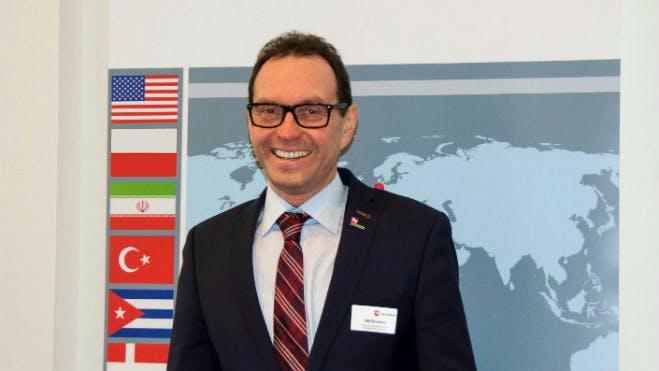 Abteilungsleiter Borchers eröffnet die 9. Internationalen Beratertage am 7. November 2017 in Hannover