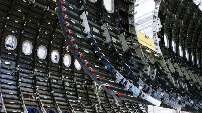 Flugzeugbau: Schalenfertigung in Nordenham