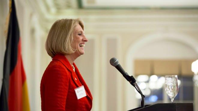 Deputy Governor Leslie Munger