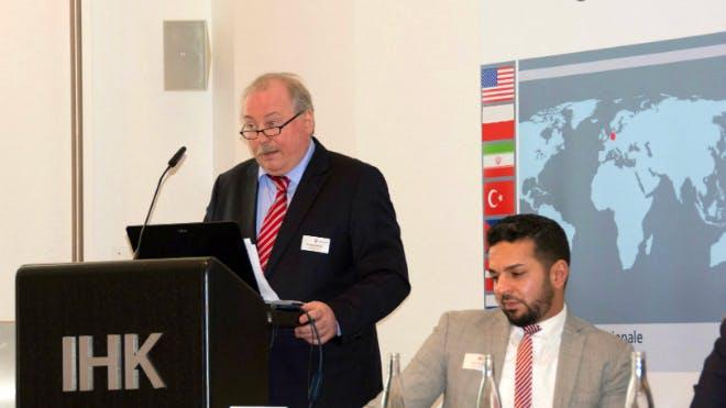 Wolfgang Wanja stellt die aktuellen Entwicklungen in der Türkei vor