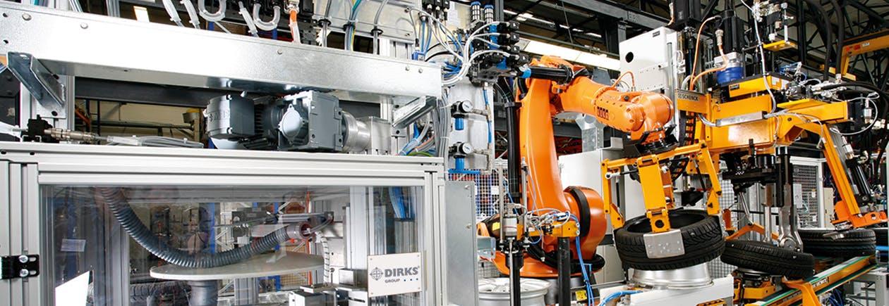 Industrie 4.0 Buehne