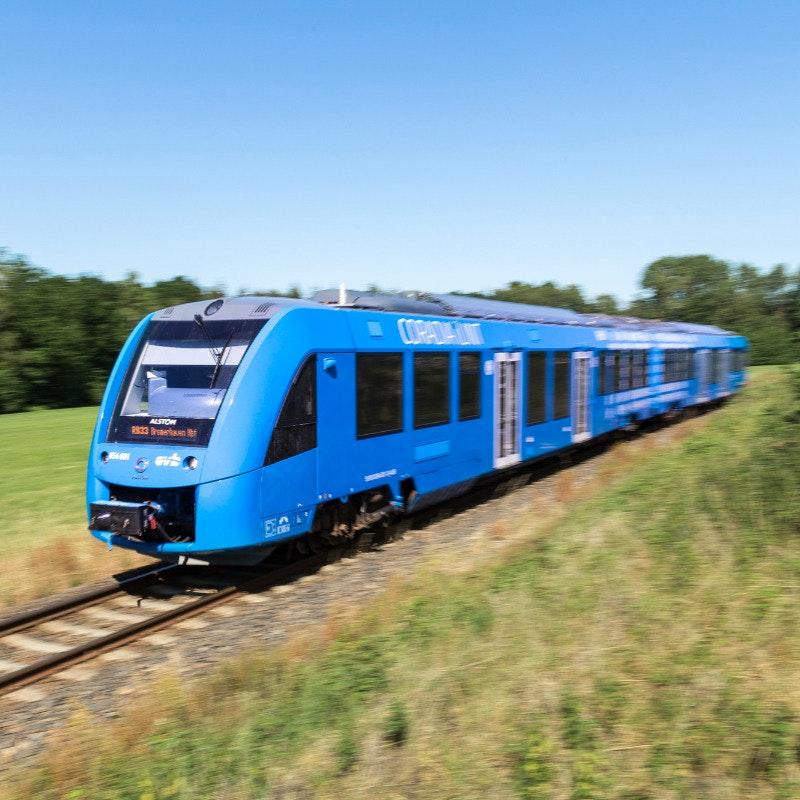 "Alstom Wasserstoffzug ""Coradia iLint"""