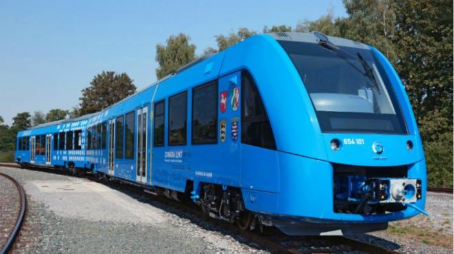 """Der erste wasserstoffbetriebene Zug namens """"ILint"""""""