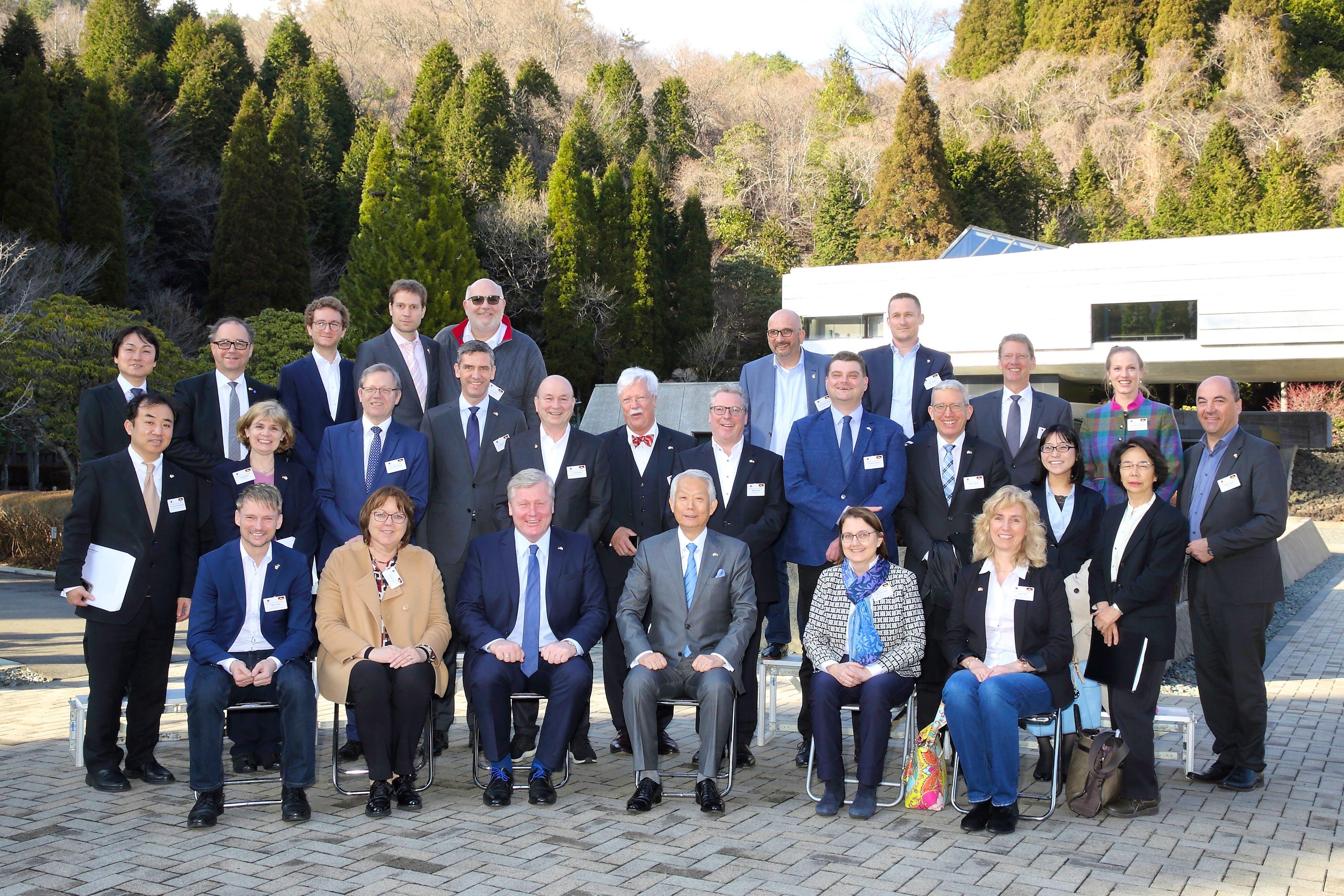 Delegationsreise Südkorea Japan